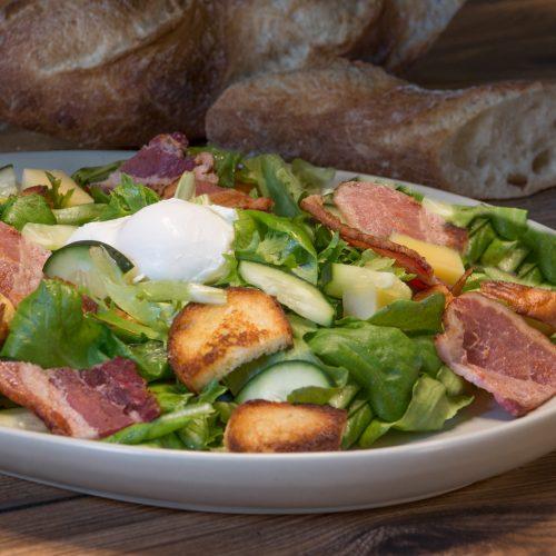 Lea Salad Lyonnaise